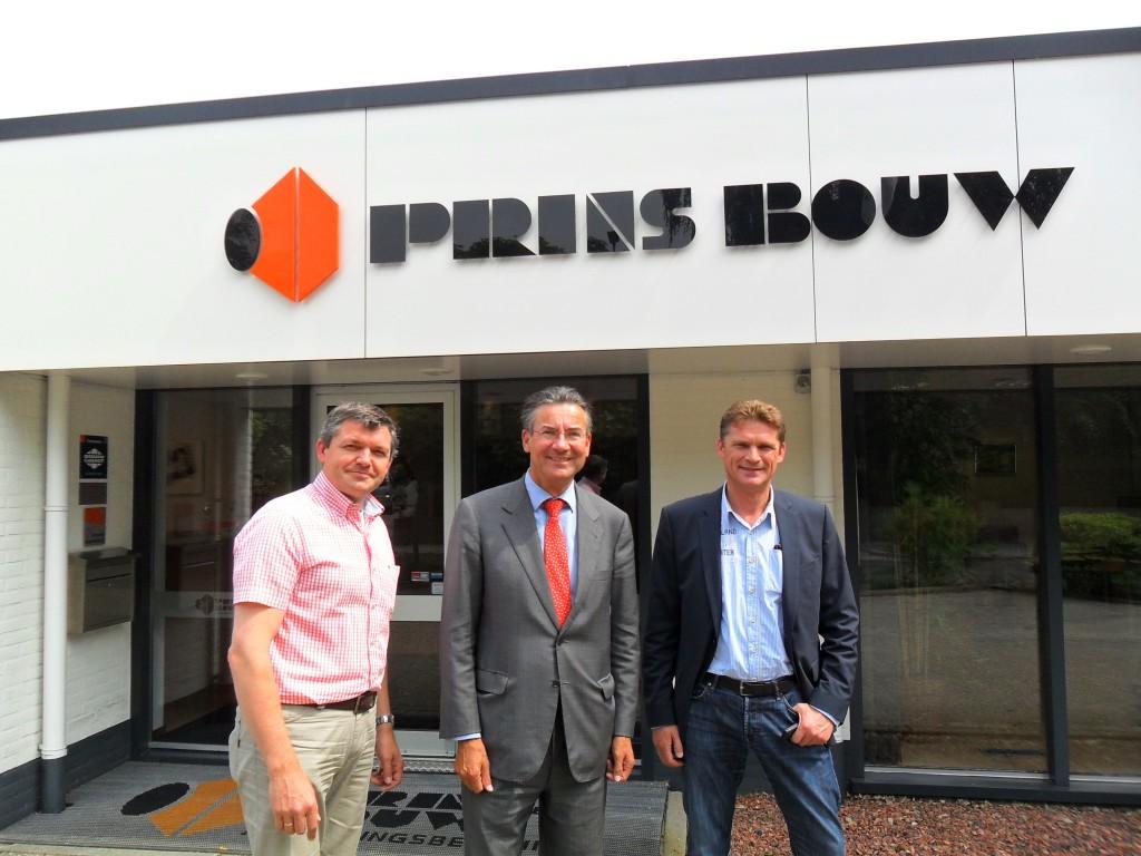 Bezoek Maxime Verhagen_prins_bouw