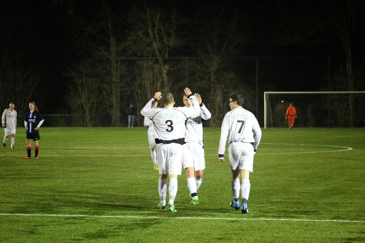 SV 't Harde A1 wint overtuigend van Heerenveen dames 1
