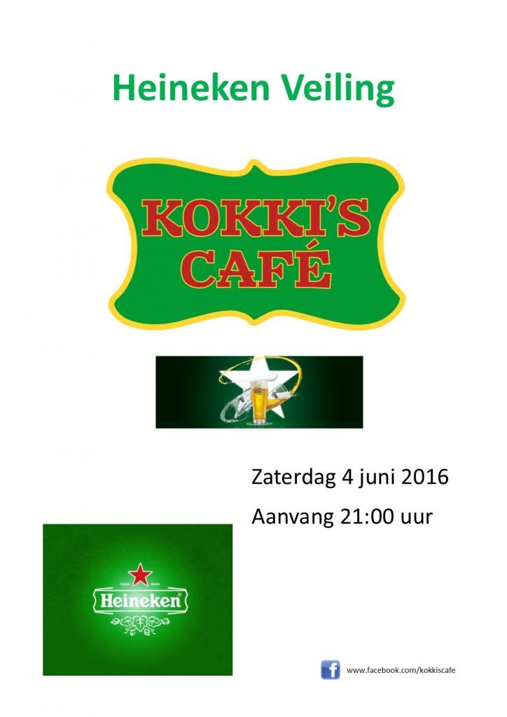 Heineken veiling 4 juni